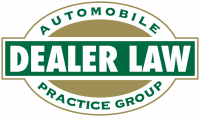 automobile dealer law logo