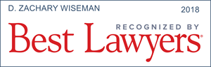 best lawyers recognition d. zachary wiseman