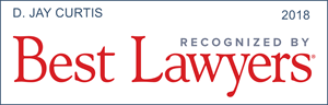 best lawyers recognition d. jay curtis