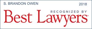 best lawyers recognition s. brandon owen