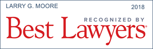 best lawyers recognition larry g. moore