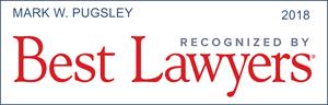 best lawyers mark w. pugsley