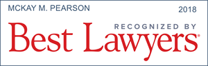 best lawyers recognition mckay m. pearson