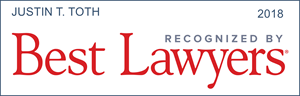 best lawyers recognition justin t. toth