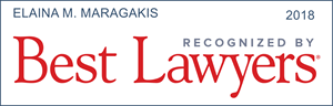 best lawyers recognition elaina m. maragakis