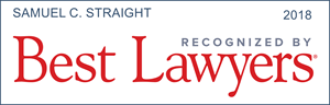 best lawyers recognition samuel c. straight