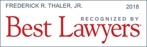 best lawyers recognition frederick r. thaler jr.