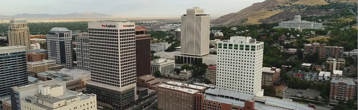 downtown salt lake city and capitol