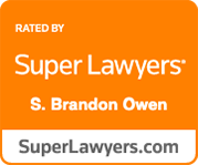 super lawyers s. brandon owen