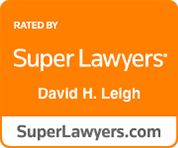 super lawyers david h. leigh
