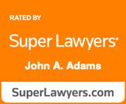super lawyers john a. adams