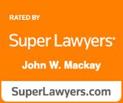 super lawyers john w. mackay