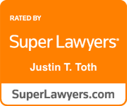 super lawyers justin t. toth