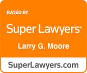 Larry Moore Super Lawyers Badge