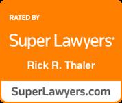 super lawyers rick r. thayler