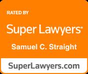 super lawyers samuel c. straight
