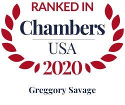 greggory savage ranked in chambers usa 2020