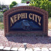 nephi city sign