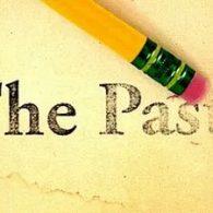 "pencil erasing ""the past"""