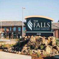 the falls sign