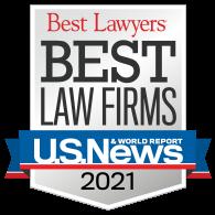 Best Lawyers Best Law Firms U.S. News & World Report 2021