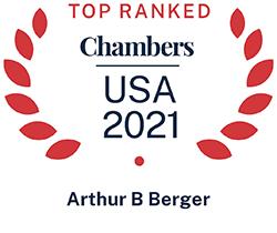 Arthur Berger, Top Ranked Chambers USA 2021