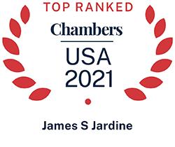 James Jardine, Top Ranked Chambers USA 2021