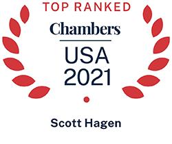 Scott Hagen, Top Ranked Chambers USA 2021